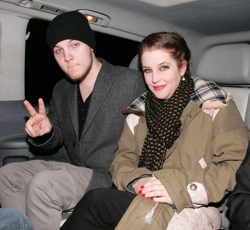 Lisa Marie Presley son Benjamin
