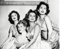 Gabor Sisters With Mom, New York, USA