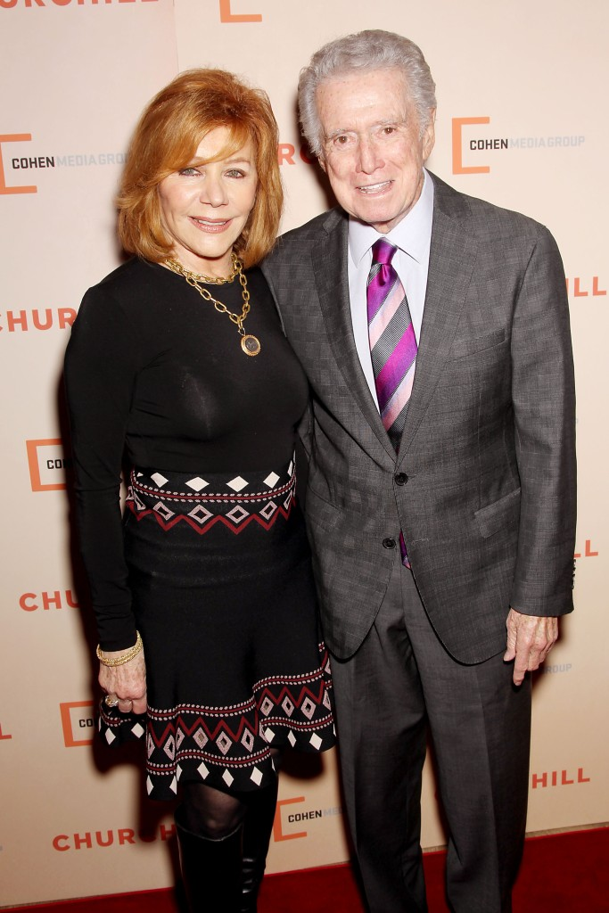 Regis and Joy Philbin