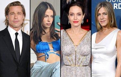 Brad Pitt Dating History Nicole Poturalski Angelina Jolie Jennifer Aniston