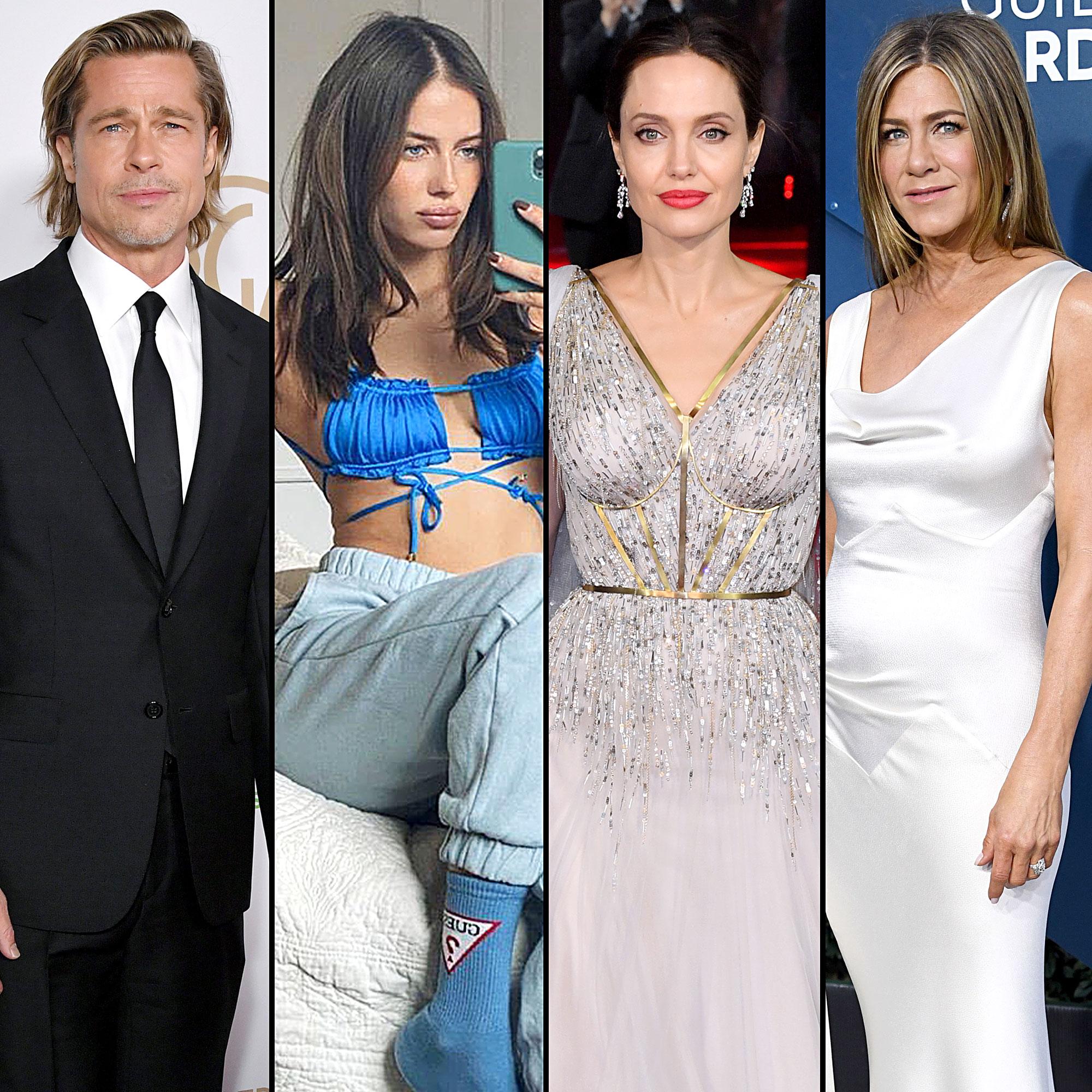 """Zvonurile despre întâlniri despre Brad Pitt sunt """"ridicole"""" și """"hilar"""", spune Ella Purnell"""
