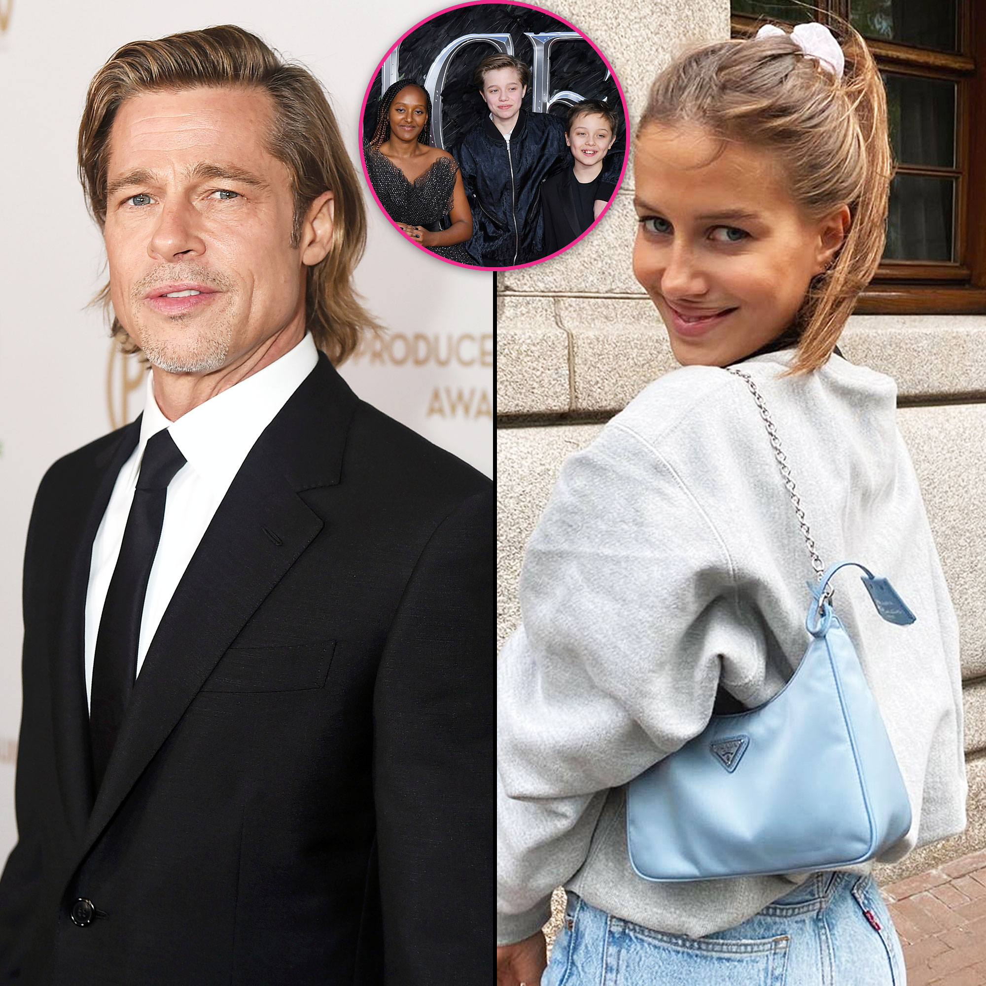 Brad Pitt Is Confident His Kids Will Love His Girlfriend Nicole Poturalski