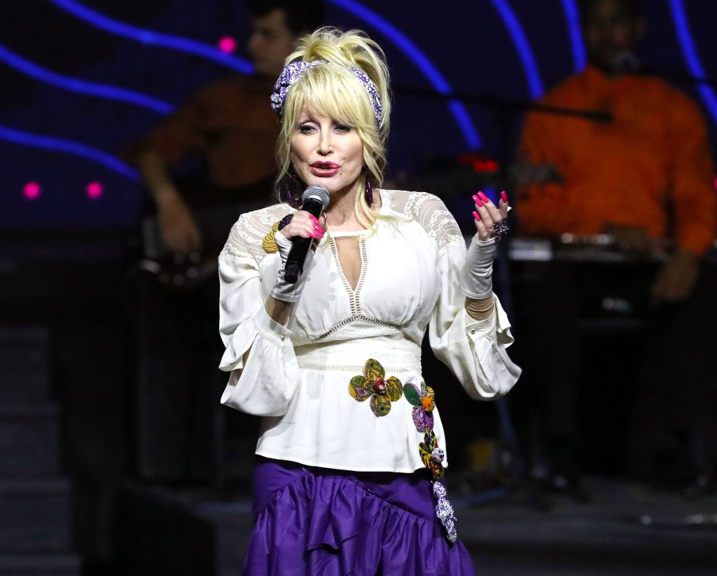 Dolly Parton Singing at Dollywood