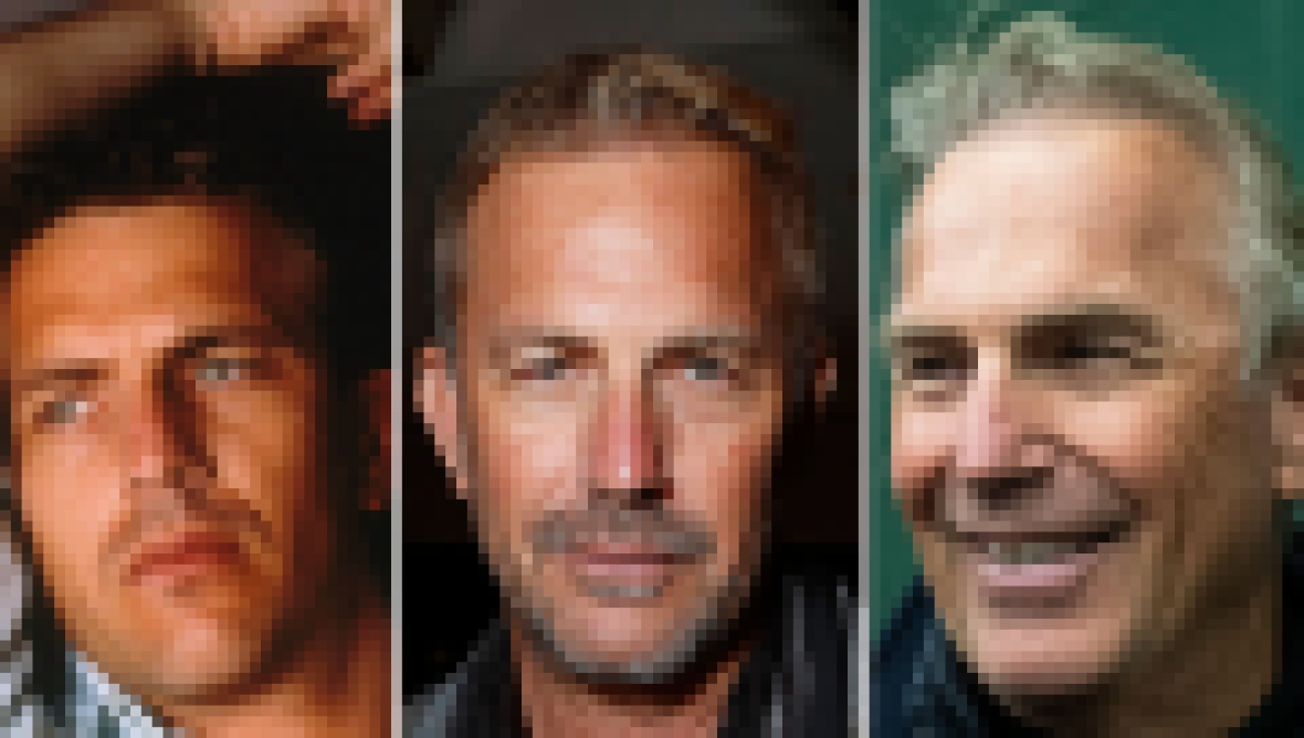 Kevin Costner Is a Very Handsome Guy See the Actor Transformation