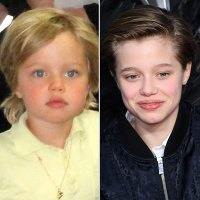 See Angelina Jolie Brad Pitt Kids Grow Up Right Before Your Eyes John Jolie-Pitt Shiloh