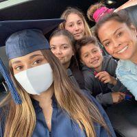 Brooke Burke and her kids
