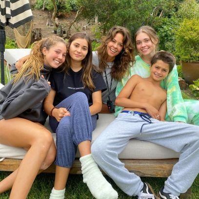 Brooke Burke's family