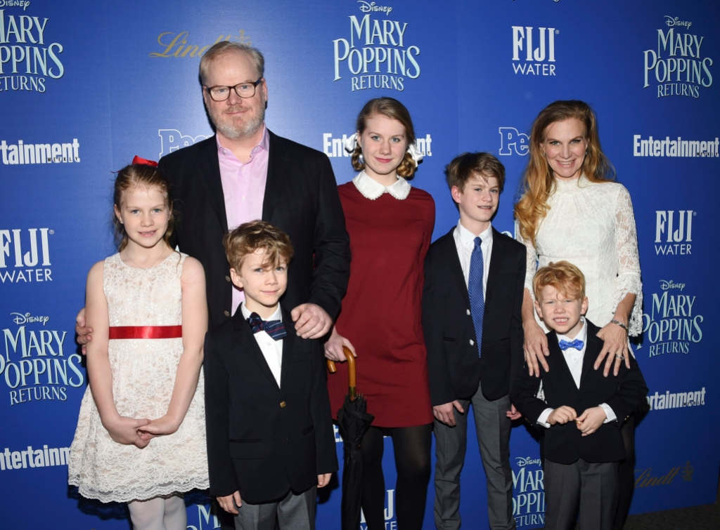 jim gaffigan family wife kids