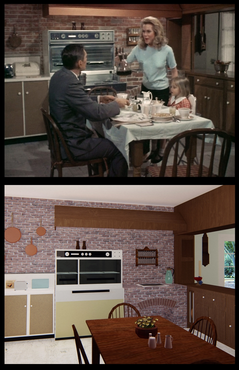Take A Tour Of Samantha And Darrin Stephens Home From Bewitched