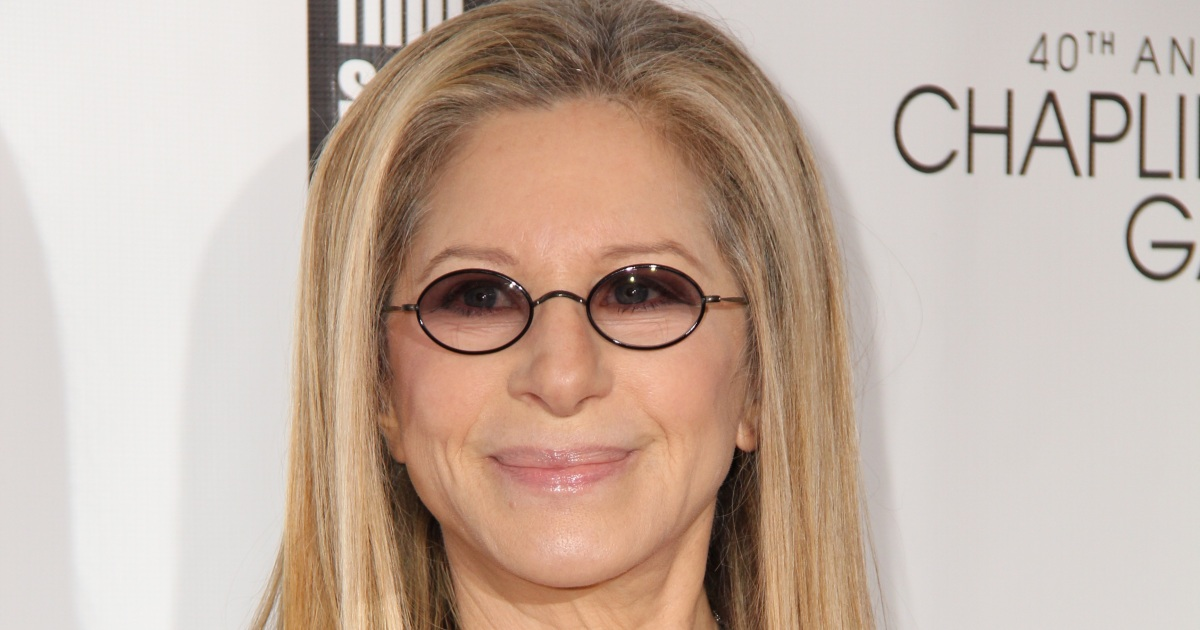 Barbra Streisand's Granddaughter Westlyn Tries on Her Shoes in Cute Pic
