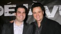 Donny Osmond and son Donald Jr.