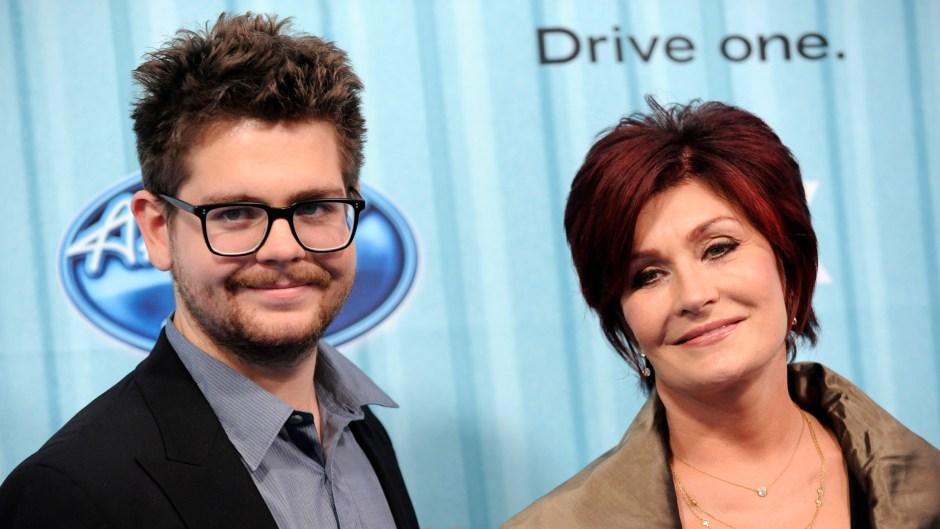 Sharon Osbourne and Jack Osbourne