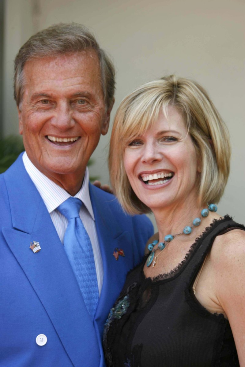 Pat Boone and daughter Debby