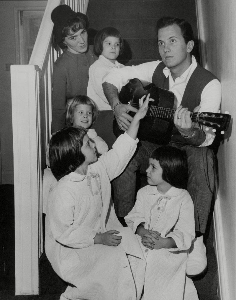 Pat Boone family