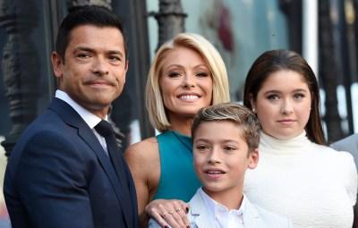 Kelly Ripa's family