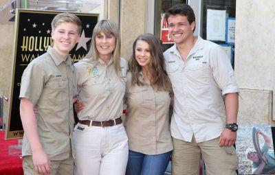 Bindi Irwin's family