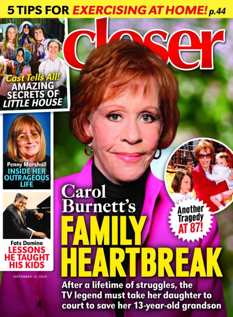 Carol Burnett closer inbook