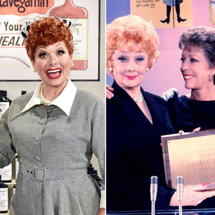 Debra-Messing-Carol-Burnett-More-Pay-Tribute-Lucille-Ball
