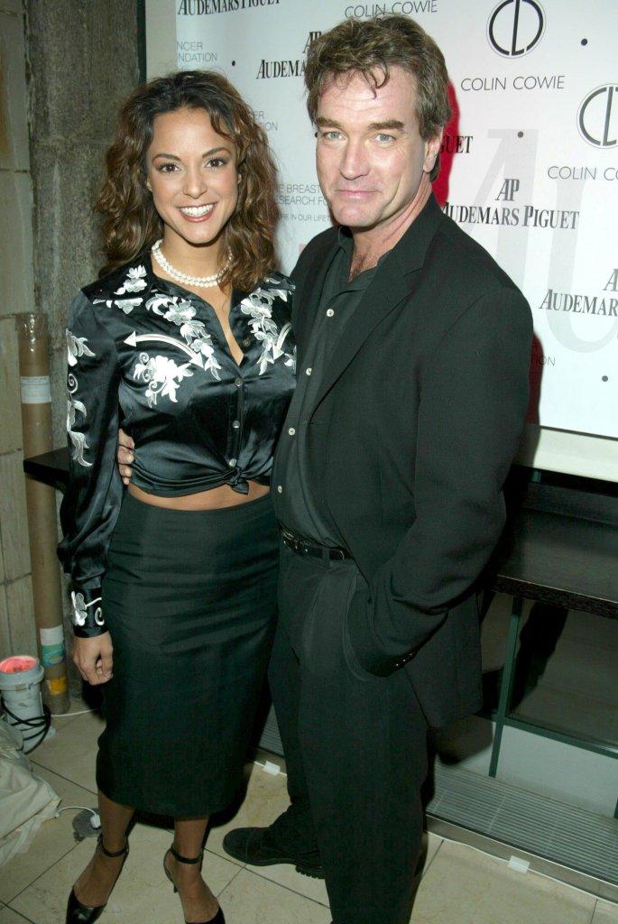 Eva LaRue and John Callahan