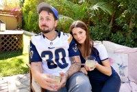 Paul Khoury and Ashley Greene with 1800 LA Rita Cocktails