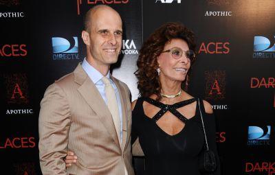 Sofia Loren's Son Edoardo Got Her to Come Out of Retirement