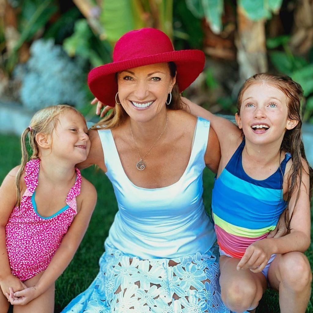 Jane Seymour With Grandchildren