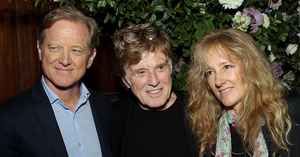 Robert Redford S Kids Meet James Shauna Amy And Scott