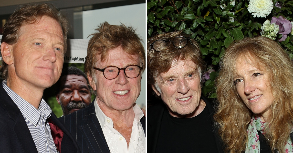 Robert Redford S Photos With His Kids Rare Family Moments