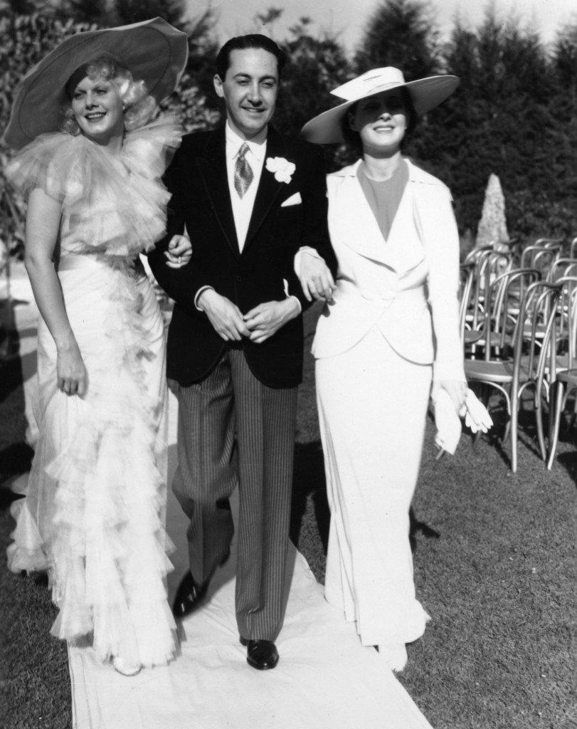 Jean Harlow, Norma Shearer and Irving