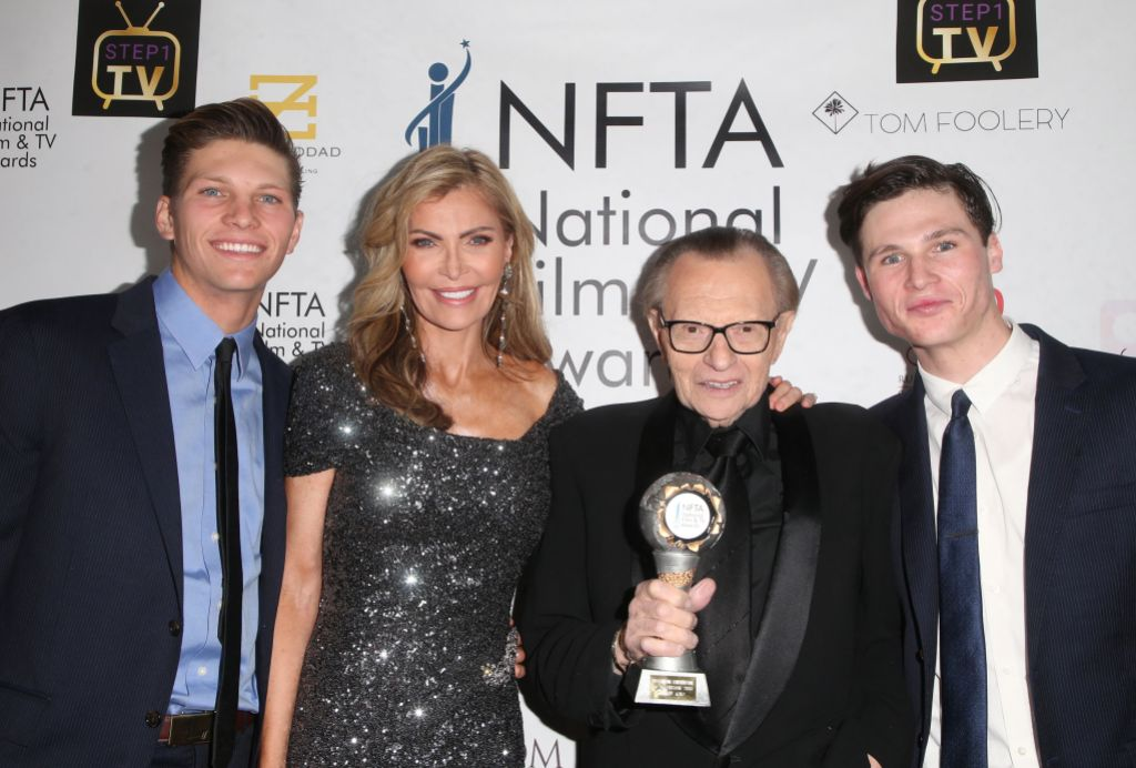 Larry King and Kids