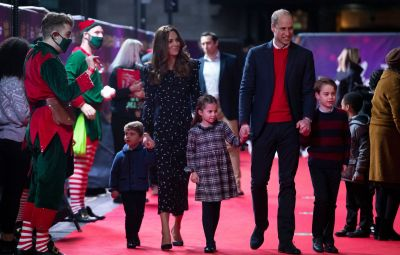 Prince William and Duchess Kate Walk Red Carpet With Kids: Photos
