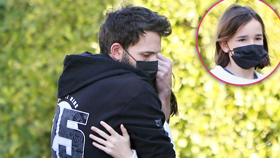 Ben Affleck and Daughter Seraphina Share a Sweet Hug During Their Morning Walk in LA