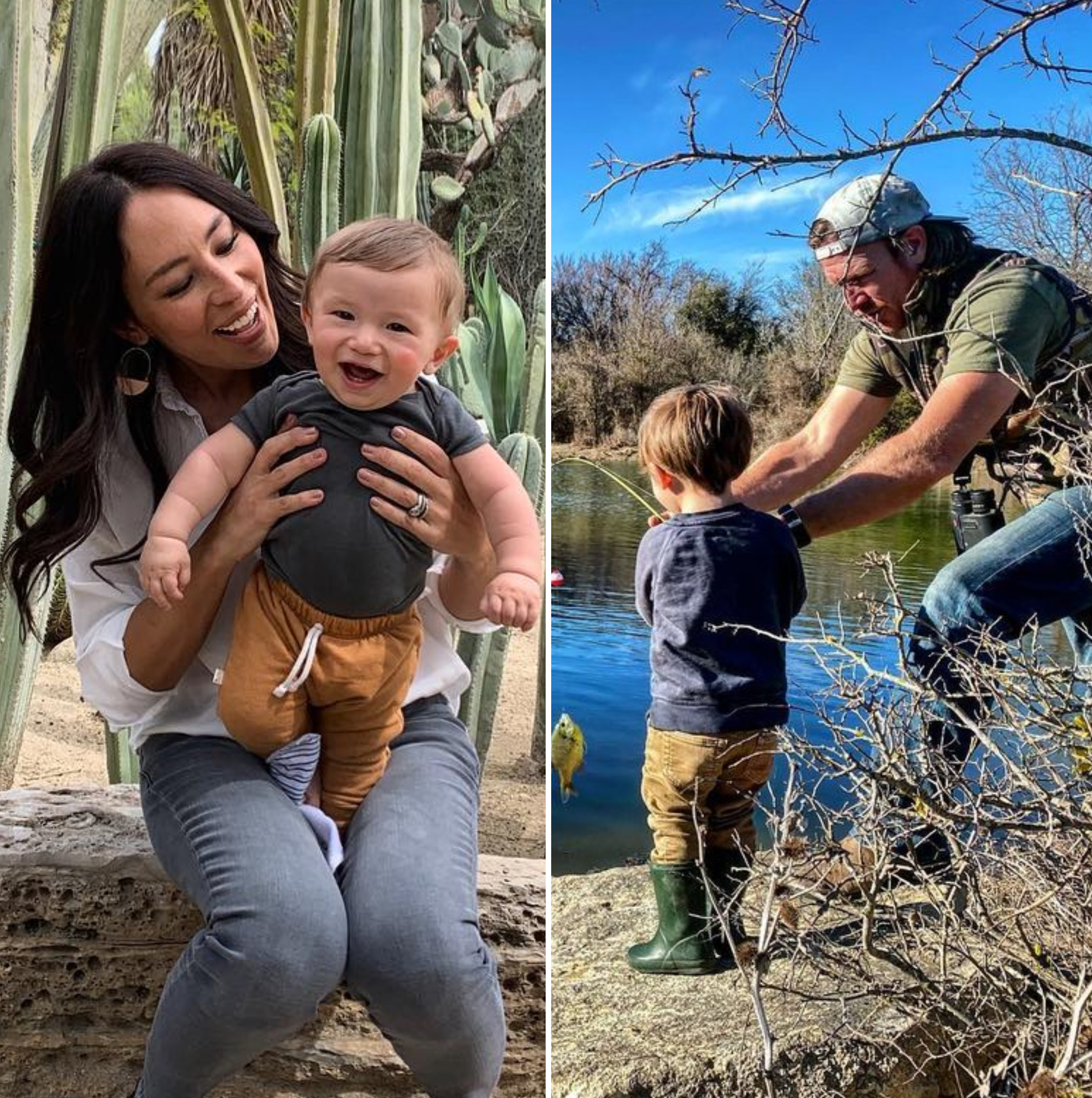 """Chip praised his wife for being the best mom while sharing a snap of Joanna and Crew snuggling on the couch. """"This woman does a lot of things well! But I will say, the way she loves our kids is absolutely her crowning achievement,"""" he gushed."""