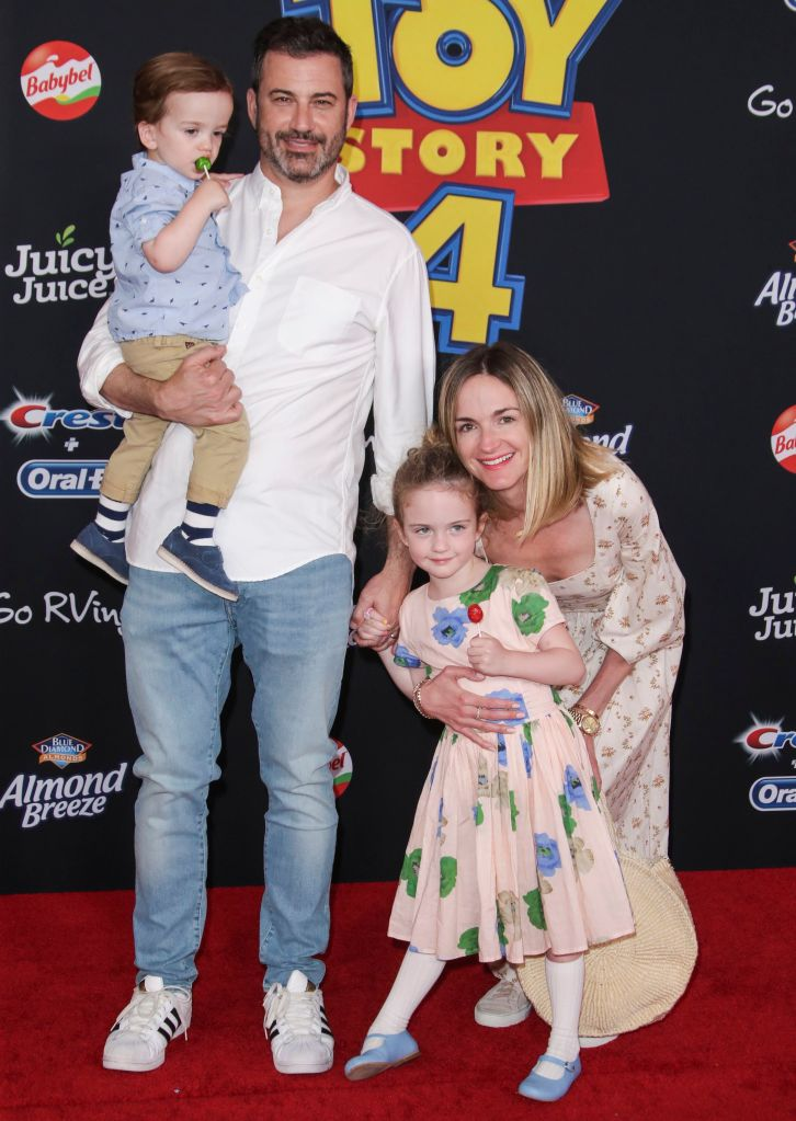 Jimmy Kimmel Wife Molly McNearney Kids Jane and Billy