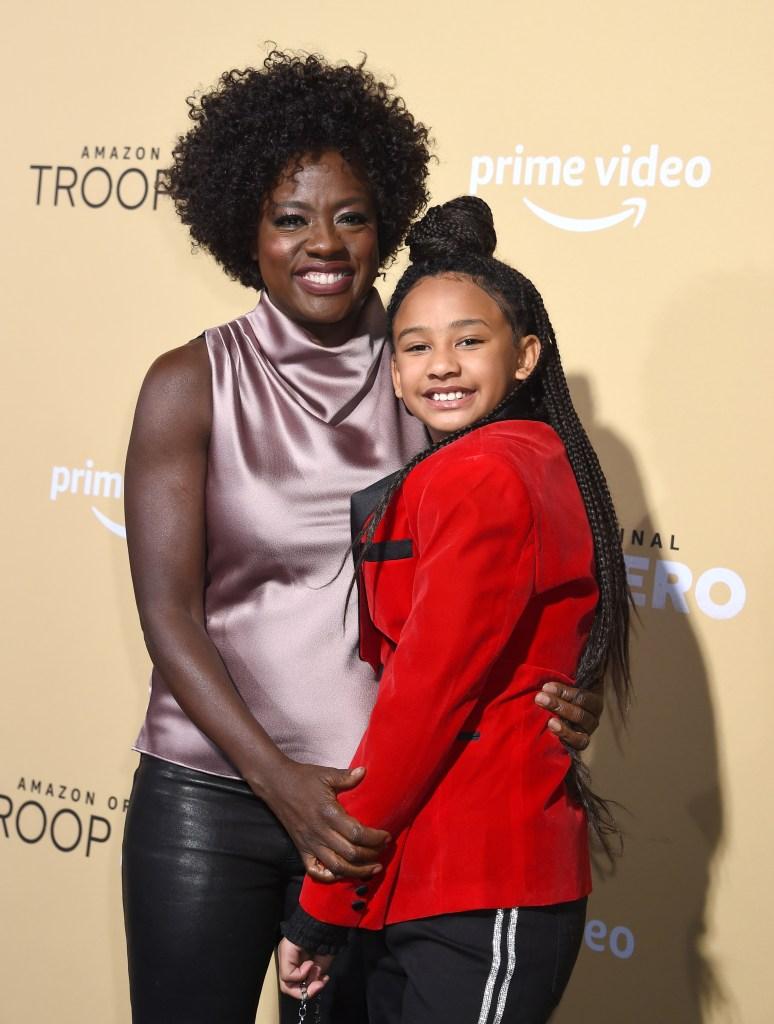 Viola Davis and Daughter