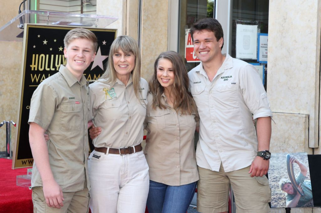 Who Is Bindi Irwin's Husband? She's Married to Chandler Powell Steve Irwin Honored with a Star on the Hollywood Walk of Fame, Los Angeles, USA - 26 Apr 2018