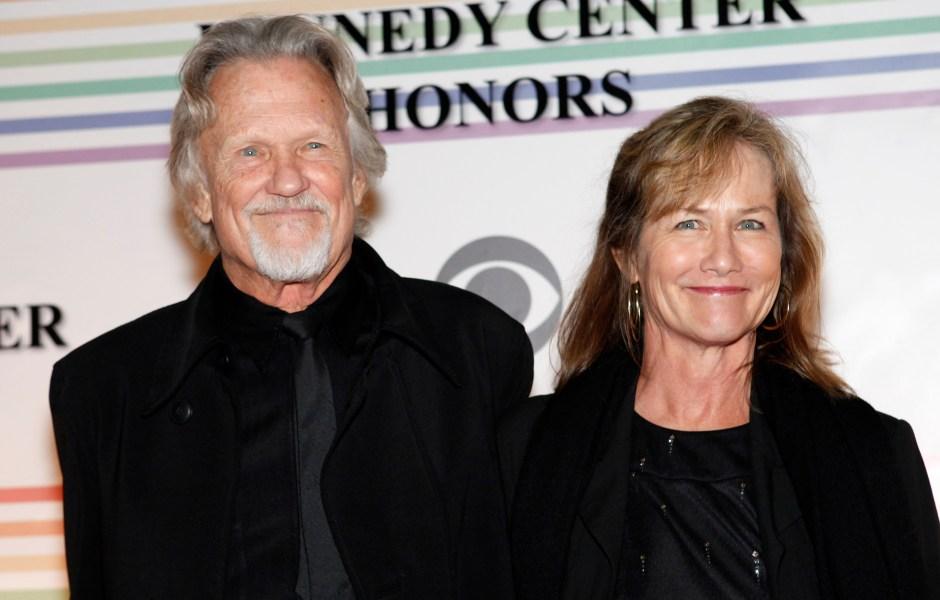 Kris Kristofferson 'Enjoying' Retirement With Wife Lisa