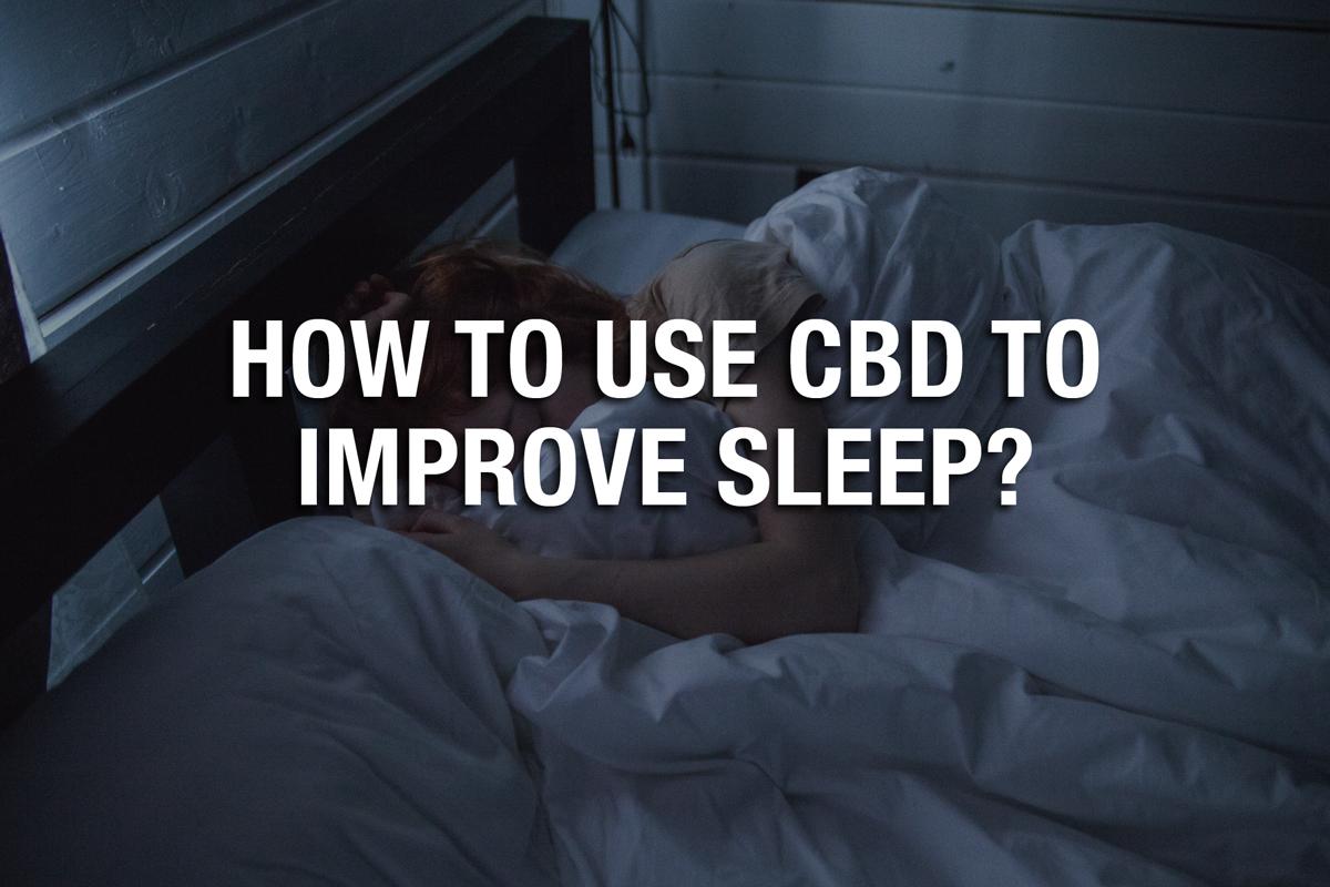 how much cbd for sleep apnea