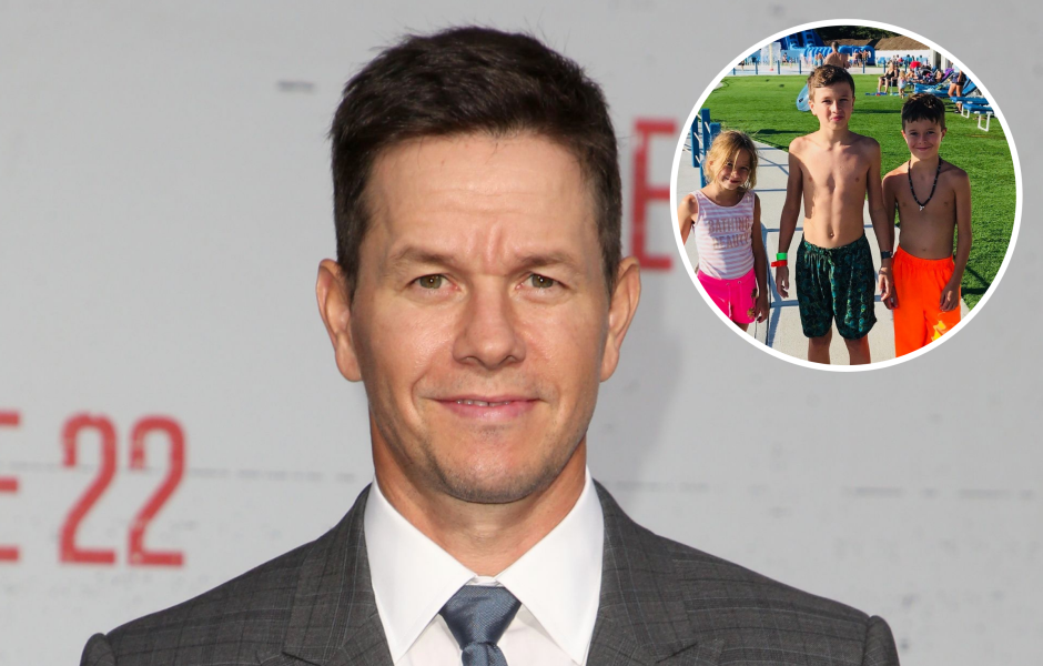mark-wahlbergs-photos-with-his-kids-family-pics-of-children
