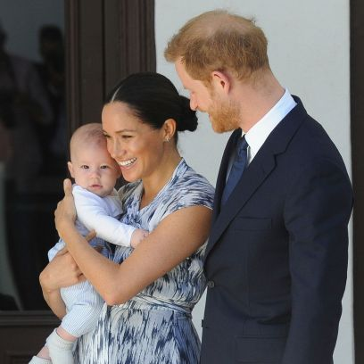Pregnant Meghan Markle and Son Archie Step Out in L.A.