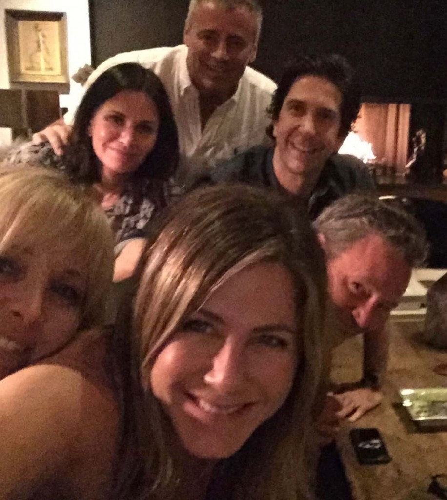6 Times The Friends' Cast Had Adorable Reunions Before HBO Max Special