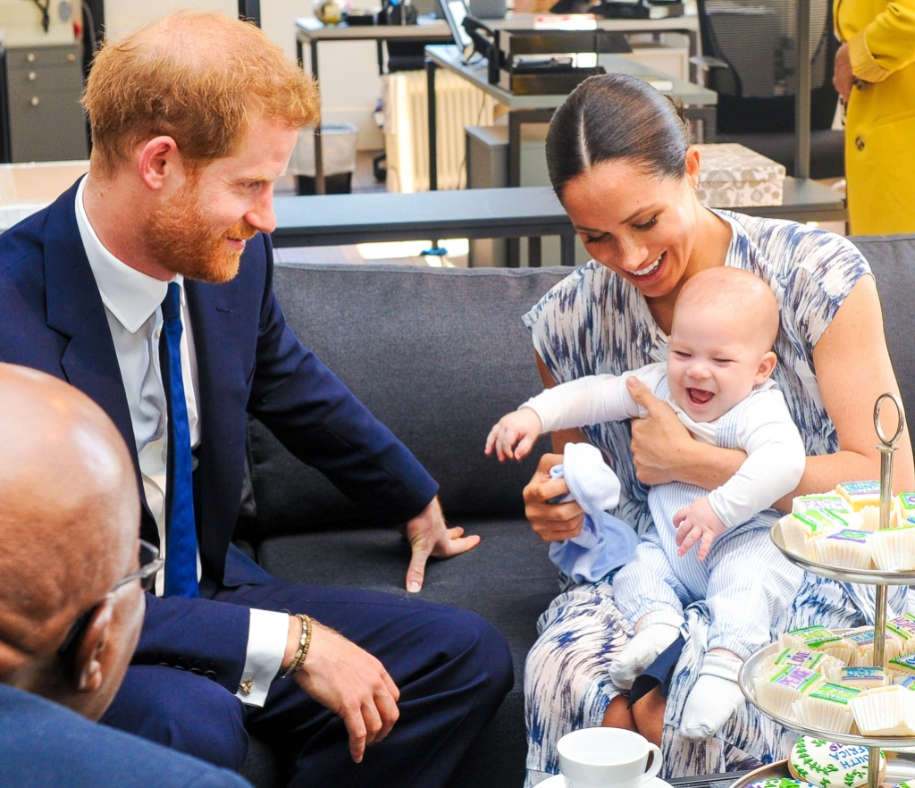 Meghan and Harry's Son Archie Is 'Bonding' With Sister Lilibet