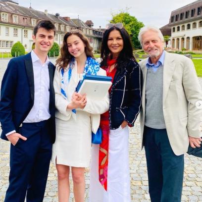 Michael Douglas Mistaken For Daughter's Grandpa At Graduation