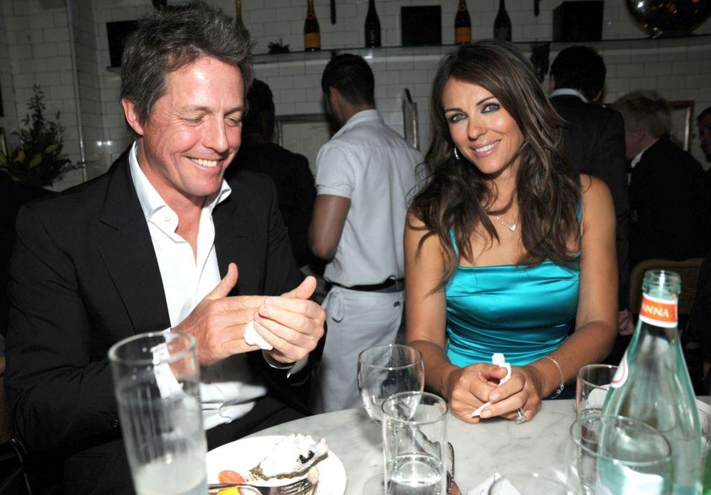 Elizabeth Hurley Still Friends with Hugh Grant