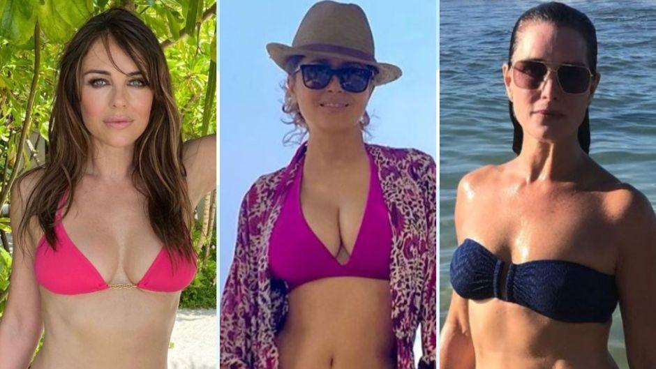 Celebrities Over 50 In Bikinis