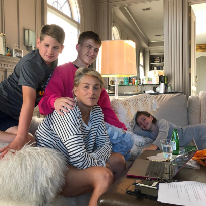 Who are Sharon Stone's Sons