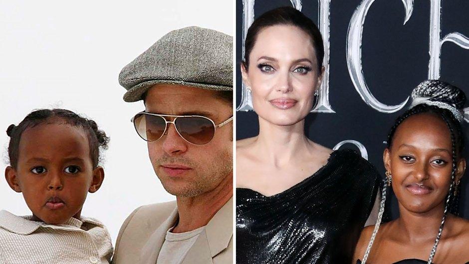 From Baby to Teen — See Zahara Jolie-Pitt Grow Up Through the Years!