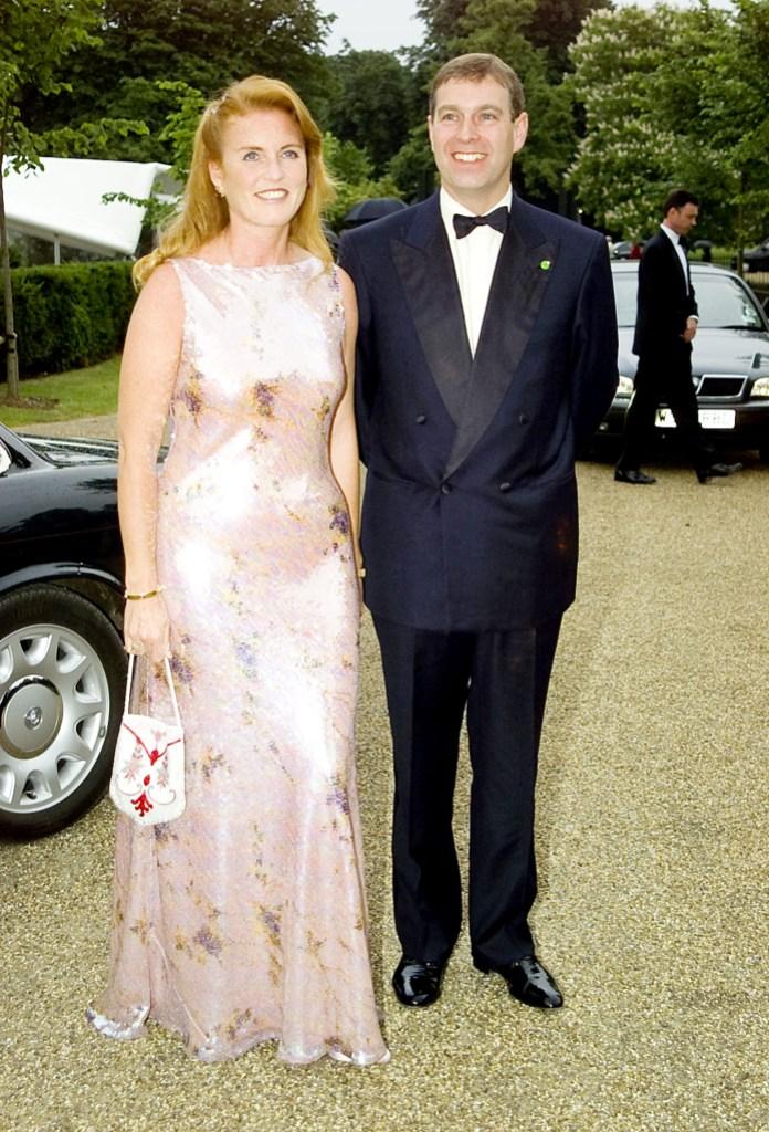 Sarah Ferguson Prince Andrew Photos