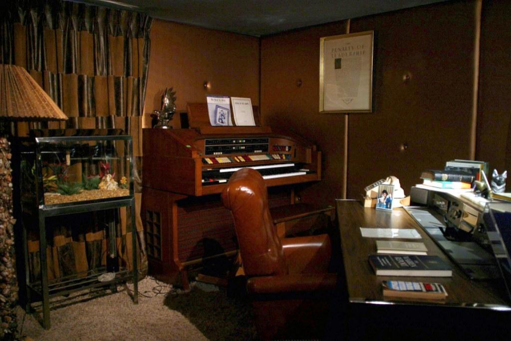 Elvis Presley's Office at Graceland