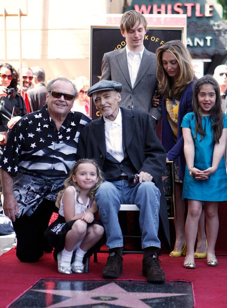 Jack Nicholson Kids and Grandkids